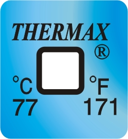 TLCSEN518: Temperature Label 1 Level-171F/77C