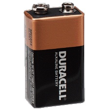 TIPACC295: Battery - 9V Duracell