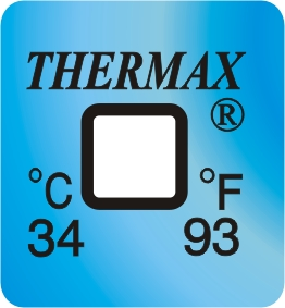 TLCSEN118: Temperature Label 1 Level-93F/34C