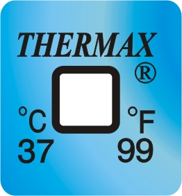 TLCSEN119: Temperature Label 1 Level-99F/37C