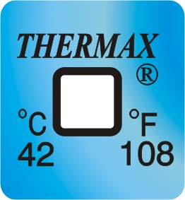TLCSEN120: Temperature Label 1 Level-108F/42C