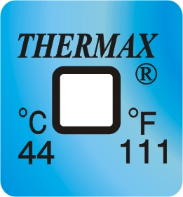 TLCSEN122: Temperature Label 1 Level-111F/44C