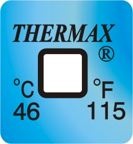 TLCSEN123: Temperature Label 1 Level-115F/46C