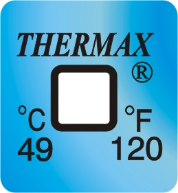 TLCSEN124: Temperature Label 1 Level-120F/49C