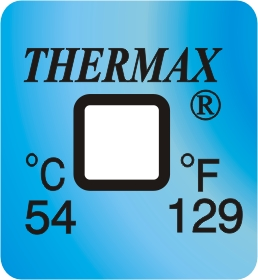 TLCSEN056: Temperature Label 1 Level-129F/54C