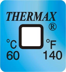 TLCSEN125: Temperature Label 1 Level-140F/60C