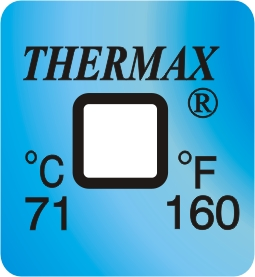 TLCSEN461: Temperature Label 1 Level-160F/71C