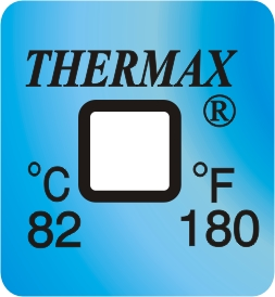 TLCSEN040: Temperature Label 1 Level-180F/82C