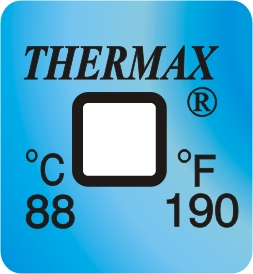 TLCSEN041: Temperature Label 1 Level-190F/88C