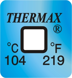 TLCSEN044: Temperature Label 1 Level-219F/104C