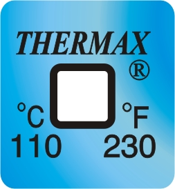TLCSEN045: Temperature Label 1 Level-230F/110C