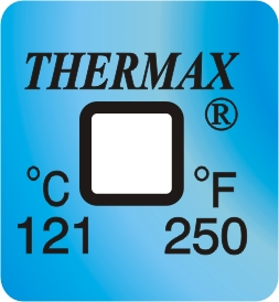 TLCSEN047: Temperature Label 1 Level-250F/121C