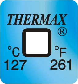 TLCSEN127: Temperature Label 1 Level-261F/127C