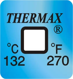 TLCSEN128: Temperature Label 1 Level-270F/132C
