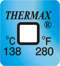 TLCSEN129: Temperature Label 1 Level-280F/138C