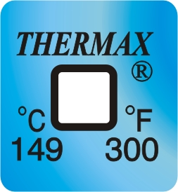 TLCSEN131: Temperature Label 1 Level-300F/149C