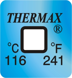 TLCSEN046: Temperature Label 1 Level-241F/116C