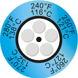 TLCSEN050: Temperature Label 5 Level Clock Indicator-4